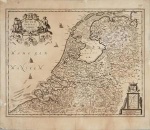 Mapa Zjedn Prowincji 1658