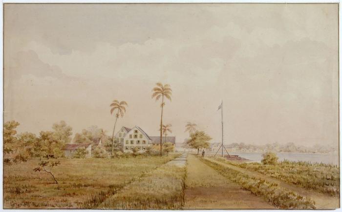 plantages_'Nijd_en_Spijt'_en_'Alkma Surinam