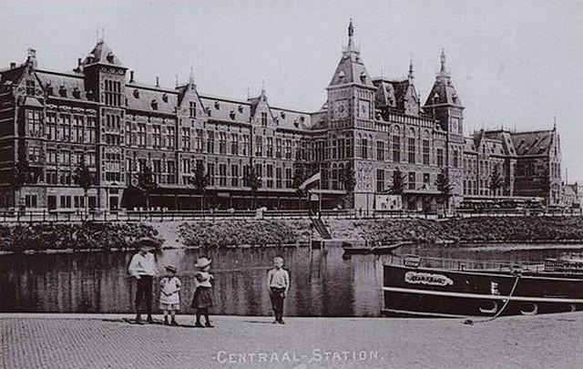 Centraal Station van Amsterdam