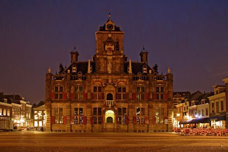 Stadhuis in Delft