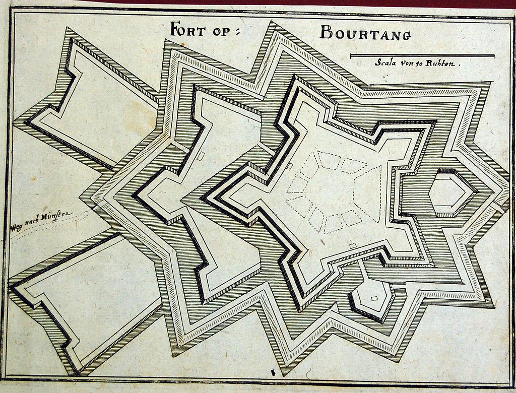 Bourtange_1657_Merian