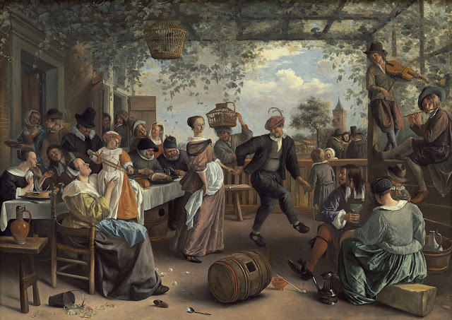Dancing Couple 1625-26, by Jan Steen