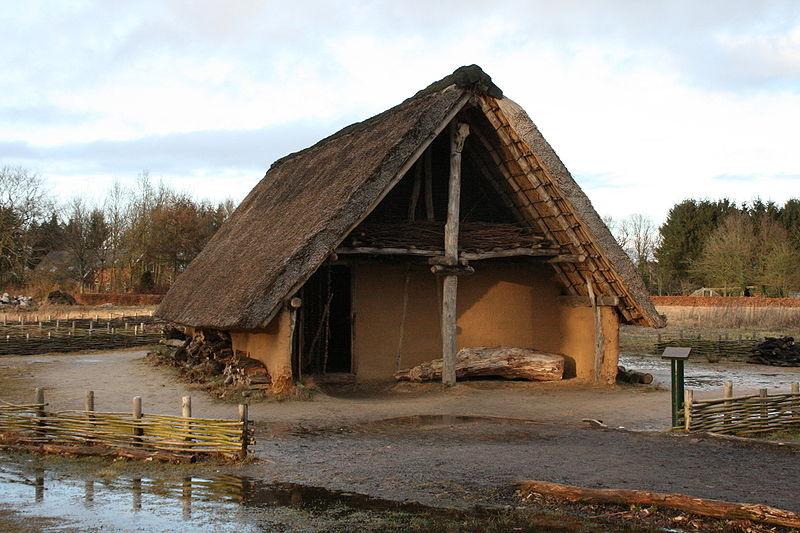 dom neolityczny Borger