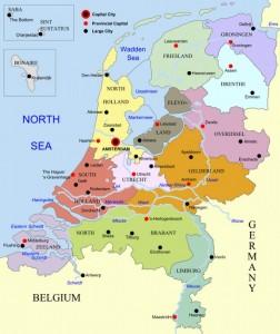prowincje Holandii