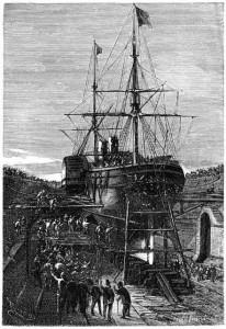 statek kolonialny