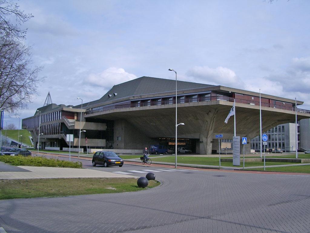 Aula bouwkunde, T.U.-Delft