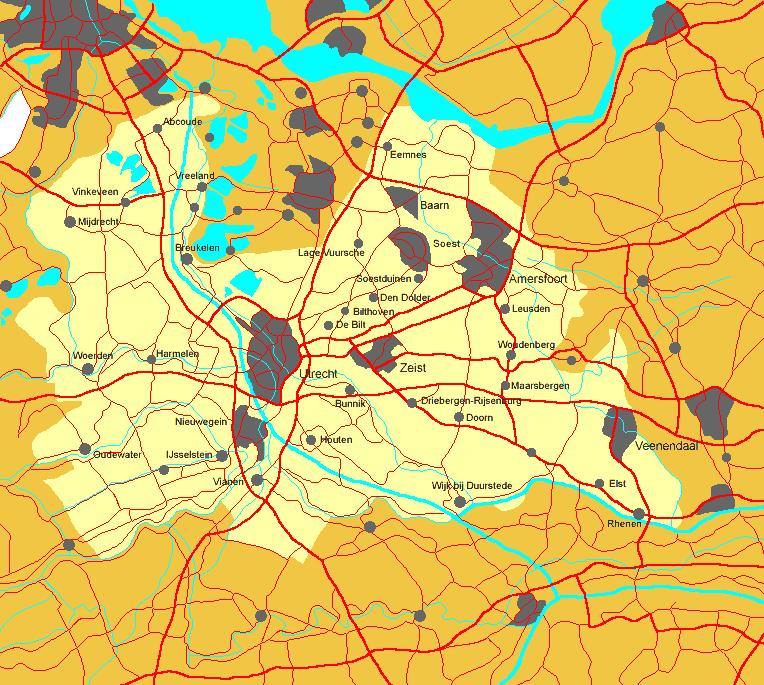 Utrecht mapa